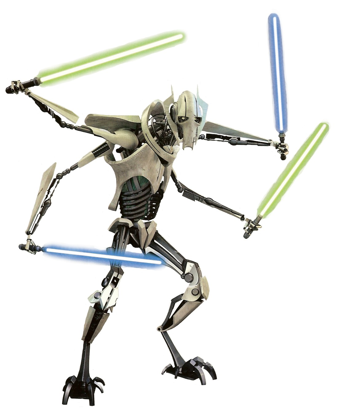 general grievous clone colouring pages (page 2)
