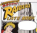Massachusetts Brown: Raiders of the Late Book