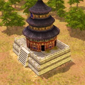 age of empires 3 how to build a wonder