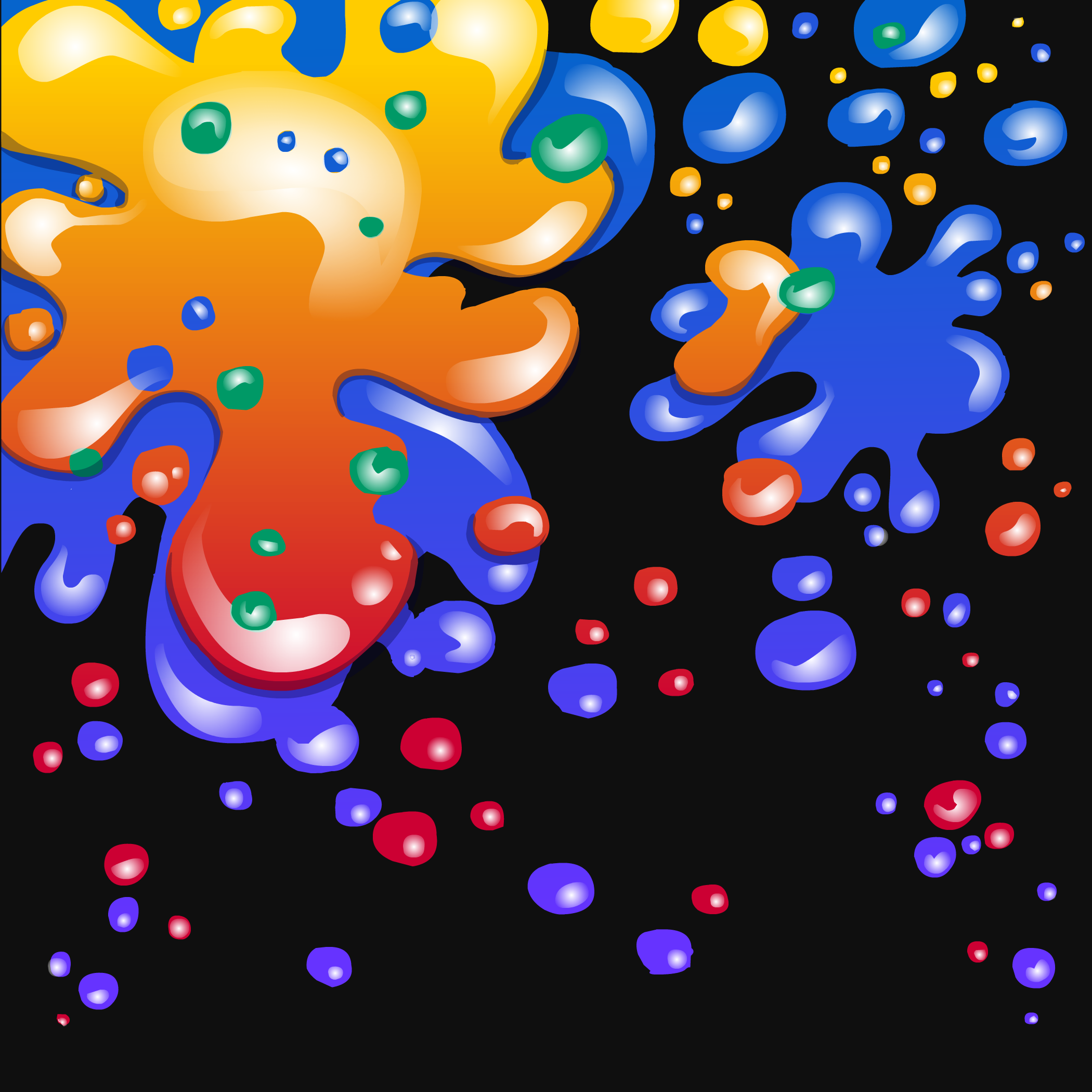 Paint Splatter Background - Club Penguin Wiki - The free ...