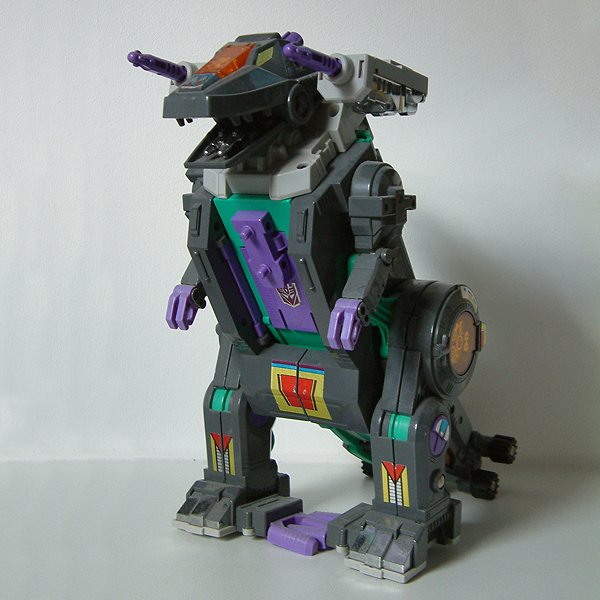 Trypticon toy in beast mode Trypticon War For Cybertron Toy