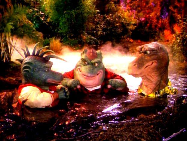 dinosaurs tv show robbie steroids