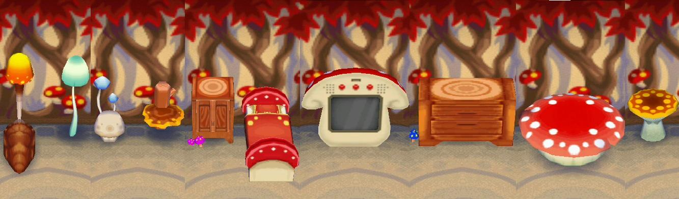 Mushroom Series Animal Crossing Wiki