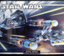 65145 X-Wing Fighter/TIE Fighter & Y-Wing Collectors Set