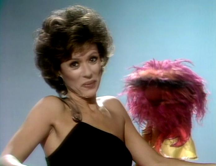 Rita Moreno on the muppet show