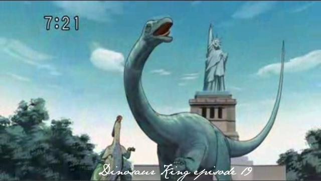 Dinosaur King episode 19 - Dinosaur King