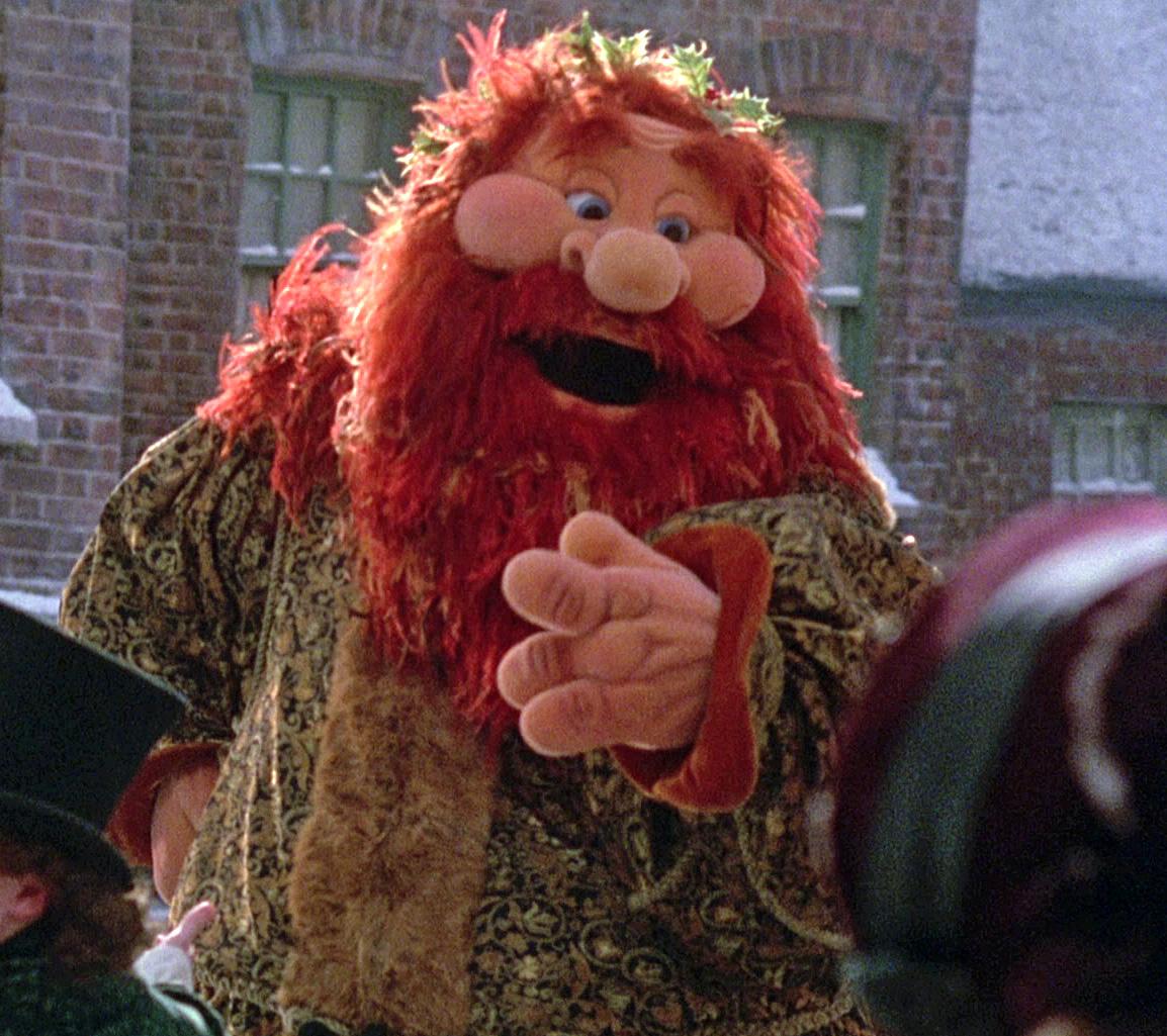 Ebenezer Scrooge Muppet Christmas Carol Jpg: The Ghost Of Christmas Present