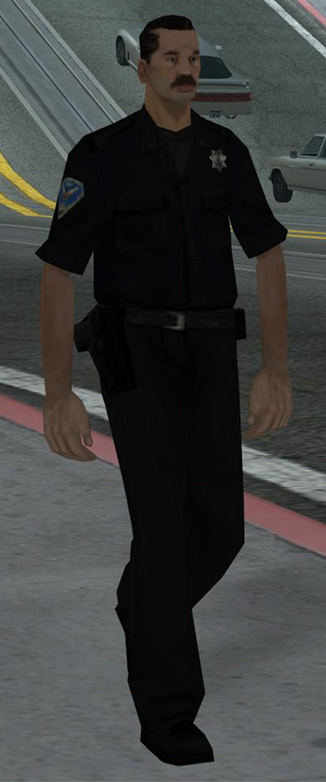 gta san andreas cop uniform