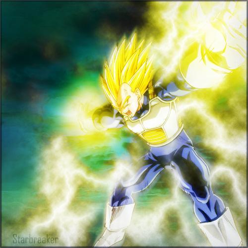 Super Vegeta Final Flash Wallpaper Image - Final Flash Ve...