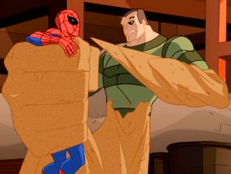 sandman ultimate spider man Sandman (The Spectacular Spider-Man) Sheamus Girlfriend 2013