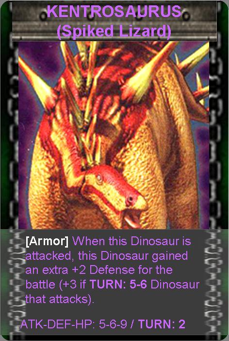 Kentrosaurus Dinosaur King Image - Kentrosaurus.p...