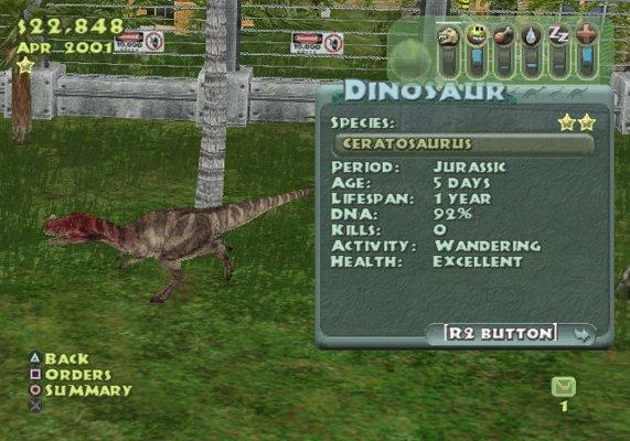 Dinosaur Behavior List