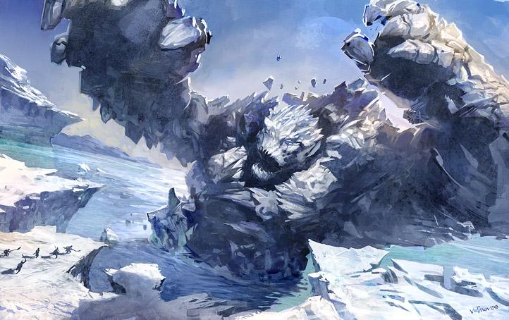 ice titan quest ragnarok