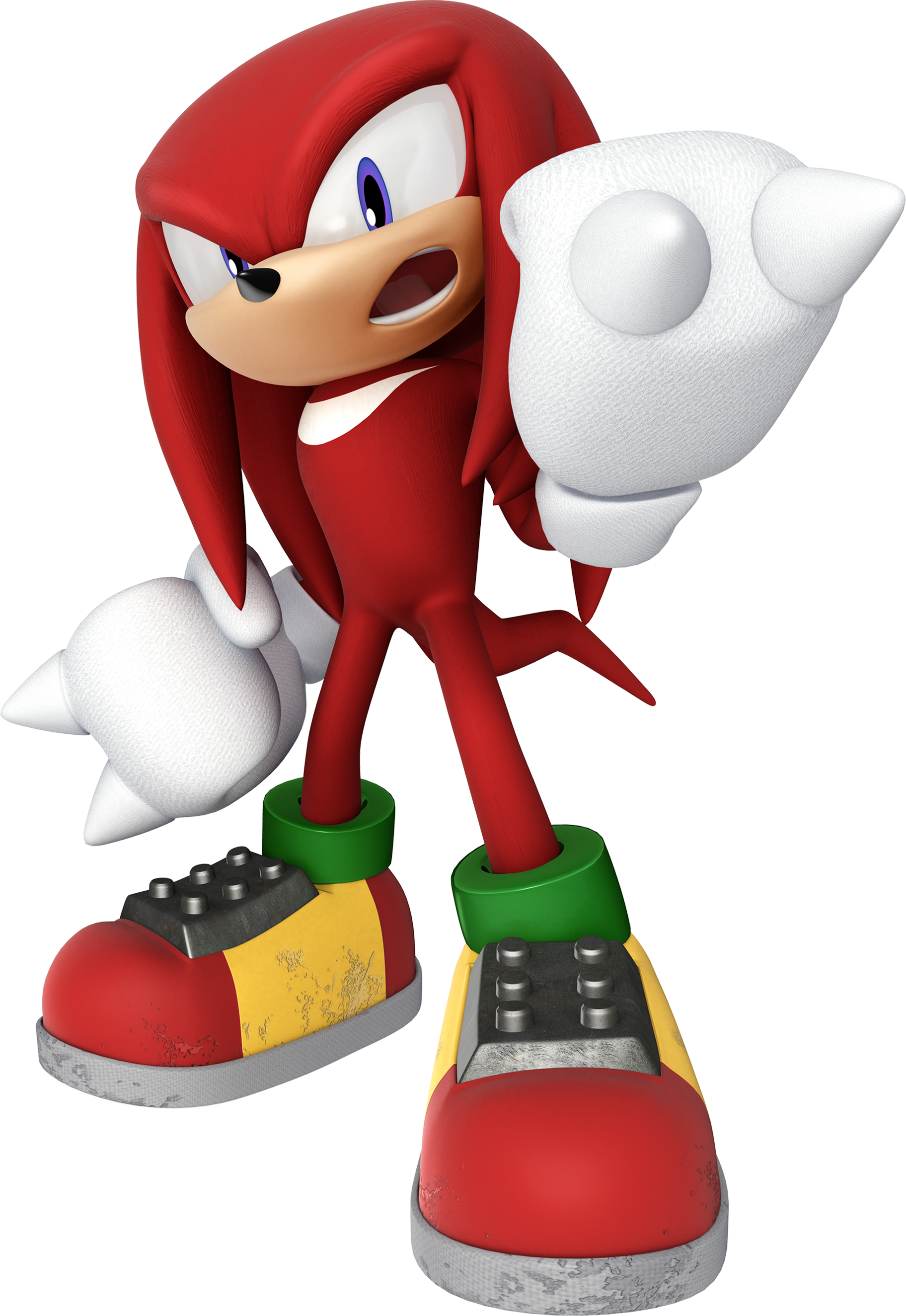 Image - ASR Knuckles.png - Sonic News Network, the Sonic Wiki