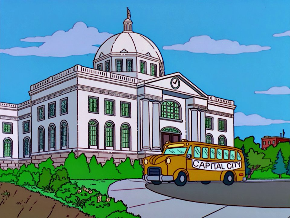 Capitol Building Simpsons Wiki
