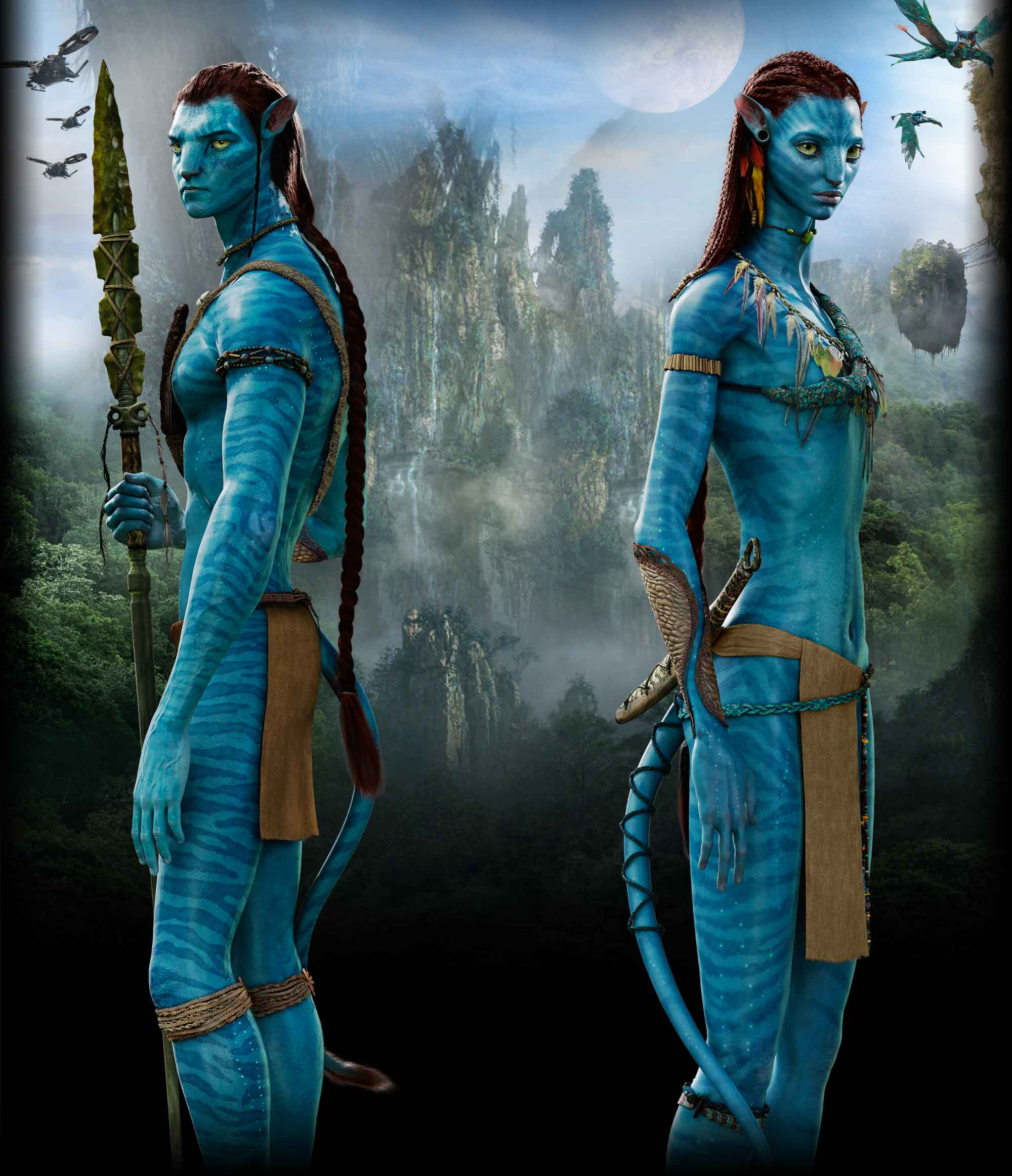 Avatar Jake: Jakesully And Neytiri By Dixetia.jpg