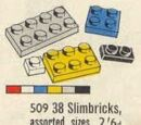 509 38 Slimbricks Assorted Sizes