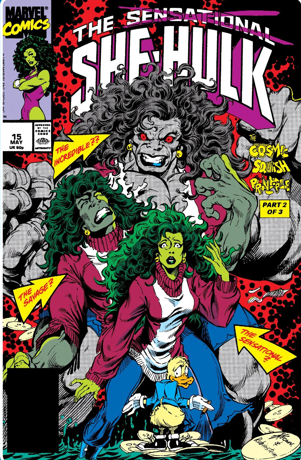 Sensational She-Hulk Vol 1 15 - Marvel Comics Database