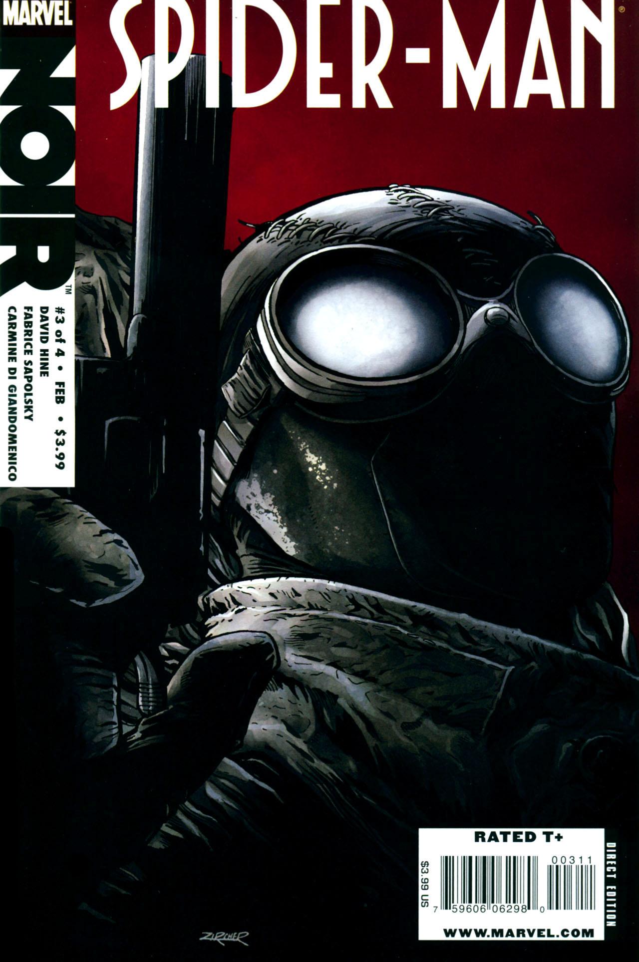 Spider man noir vol 1 3 - Spiderman noir 3 ...