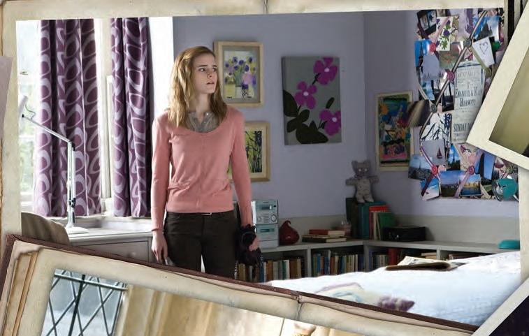 Couleur Peinture Salon Jaune : Image  Chambre hermione HP7jpg  Wiki Harry Potter, lencyclopédie