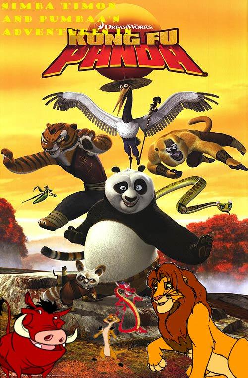 Simba Timon And Pumbaa S Adventures Of Kung Fu Panda