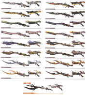 Lightning Gunblades
