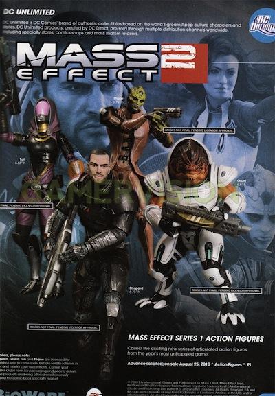 Mass Effect Figures Gamestop of Mass Effect 2 Figures