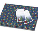 851841 Gift Wrap Santa Mini-Figure & Tree