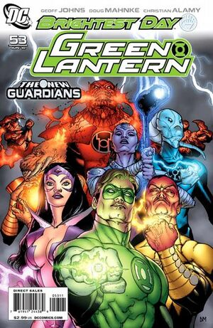 Cover for Green Lantern #53 (2010)