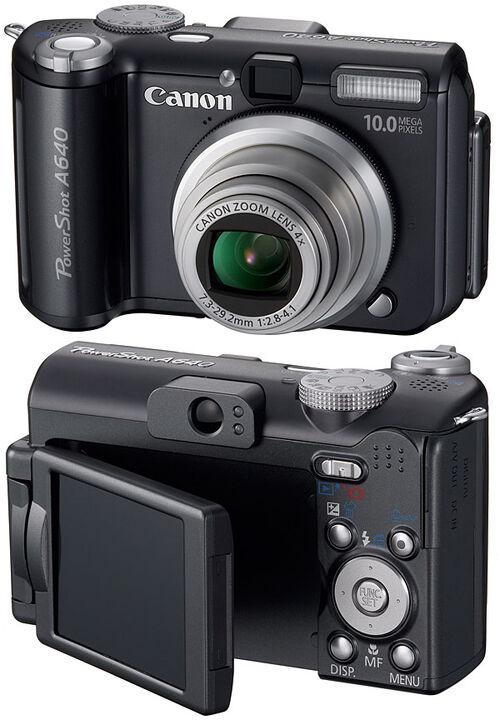 Canon A640 User Manual