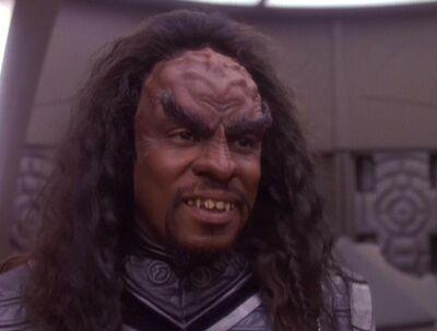 Sisko als Klingone