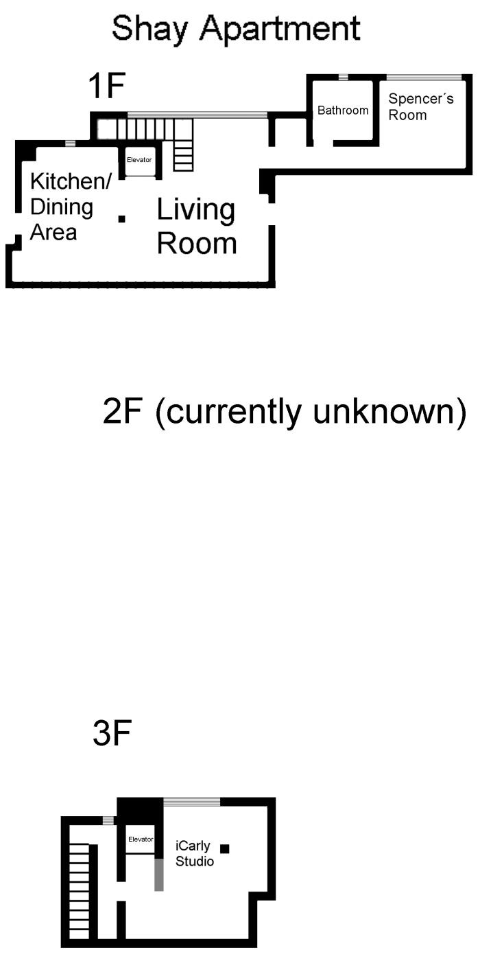 Shay Apartment Icarly Wiki Wikia