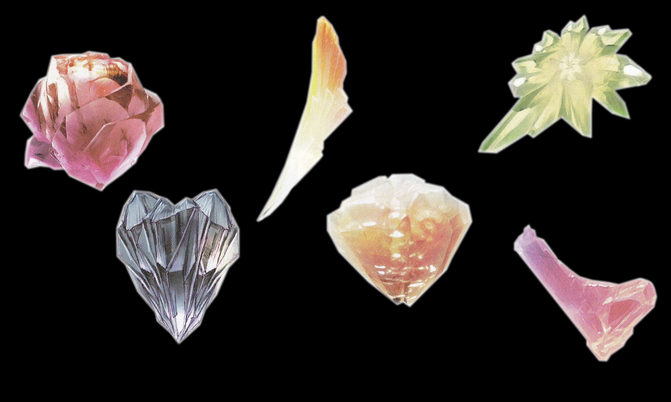 Image crystals all the final fantasy wiki for Crystal fall