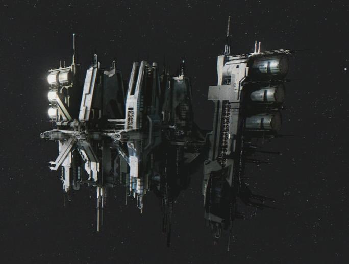 huge unsc space station-#46
