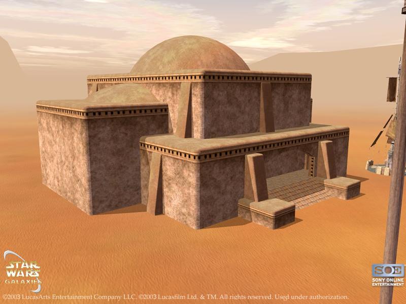 Tatooine City Hall Swg Wiki The Star Wars Galaxies Wiki