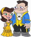 Buford and Adyson as Belle and Beast.png