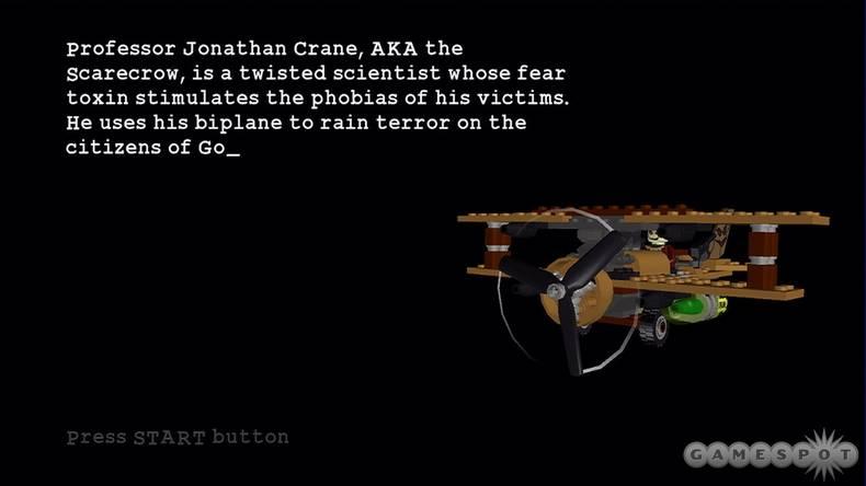 The Scarecrow's Biplane - The Lego Batman Wiki