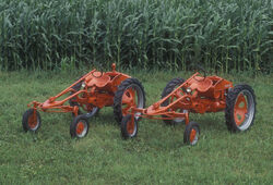 Two allis chalmers model G's
