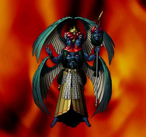 Azrael Demon Hellboy With The Powers Of The Angel Azrael By Nick