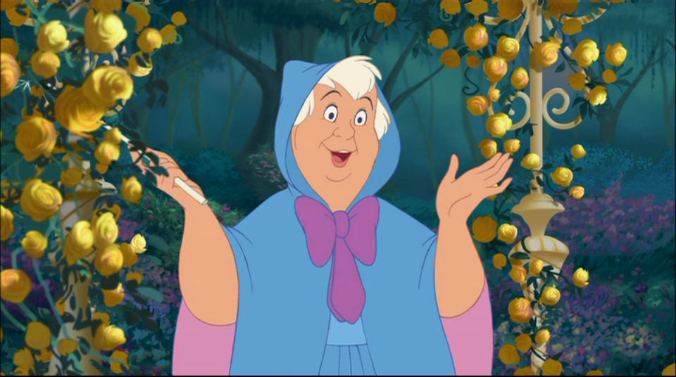 Fairy Godmother in Cinderella