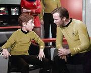 Geschnittene Szene - Peter unterhält sich mit Onkel Jim