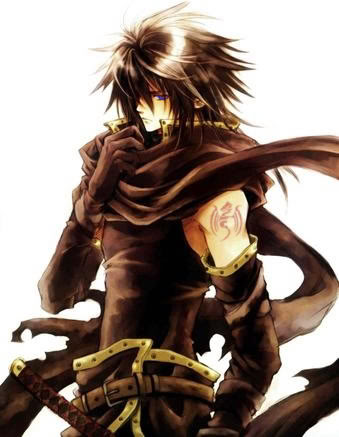 Grey Hawke Anime_Warrior_by_chaotixwolf