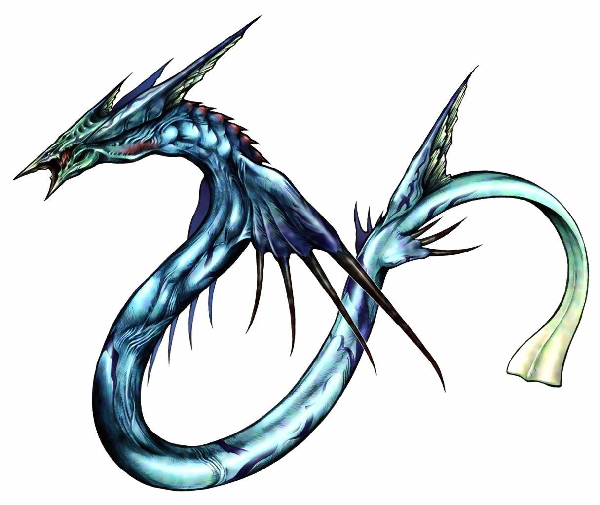 水流の召喚獣