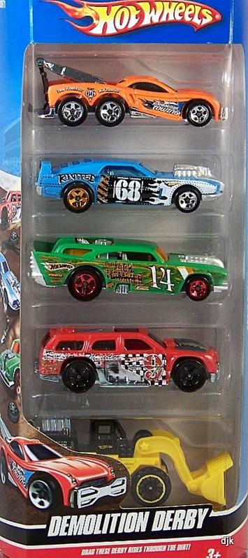 Demolition Derby 5 Pack Hot Wheels Wiki