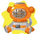 Diver Bear Plushie