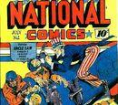 National Comics/Covers