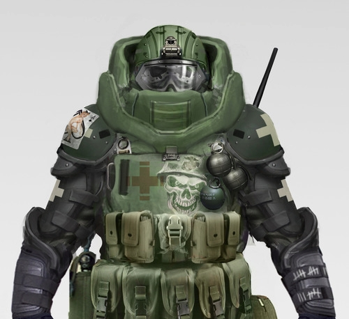 Image - Juggernaut Concept.jpg - The Call of Duty Wiki ...