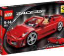 8671 Ferrari 430 Spider 1:17