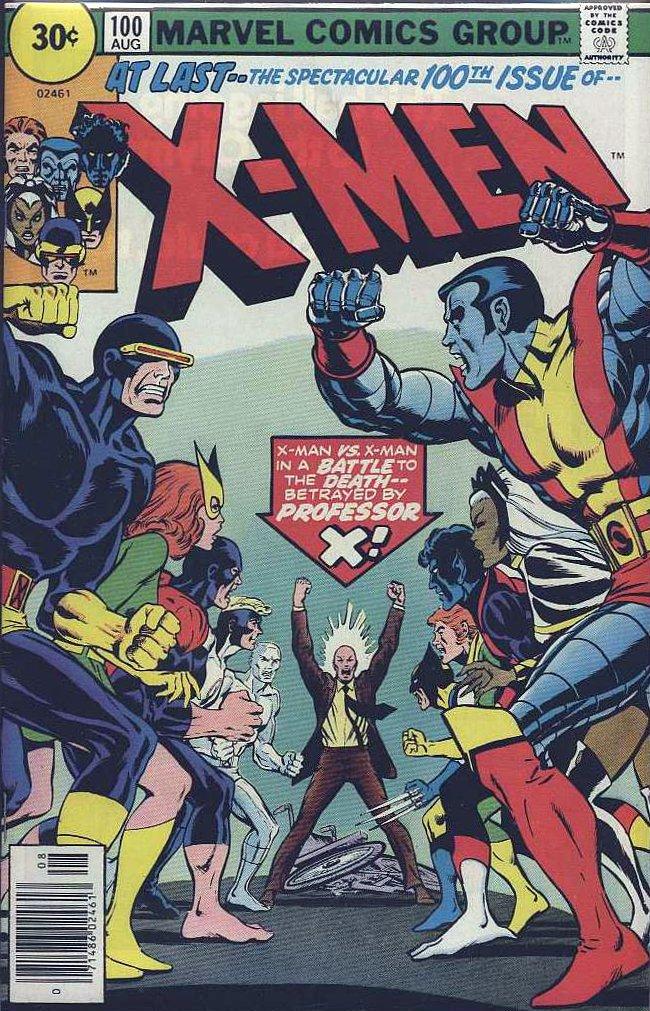 X-Men Vol 1 100 - Marv... I Love Danny