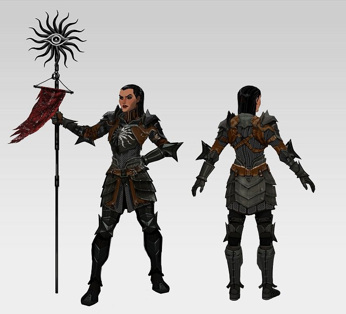 Anders Dragon Age Concept Art Full resolution